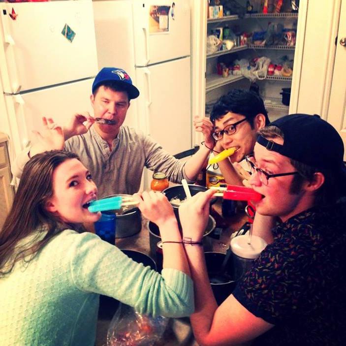 ホームパーティーの画像