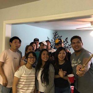 ブリガムヤング大学でのホームパーティー