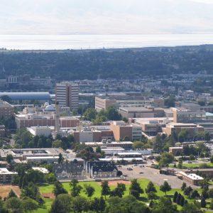 ブリガムヤング大学付属の英語学校のキャンパス