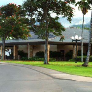 ハワイの建物