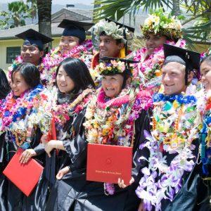 BYUハワイの卒業式