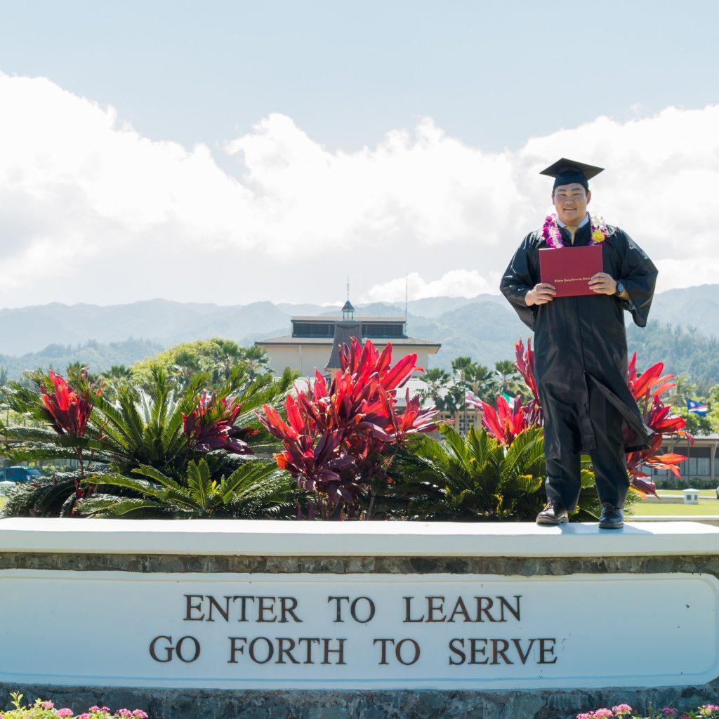アイダホ卒業画像
