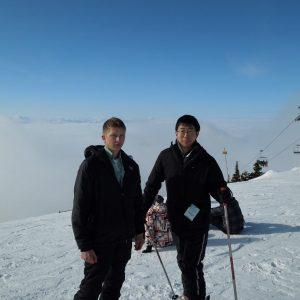 スキーの時の画像