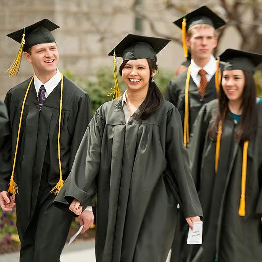 LDSBCの卒業式